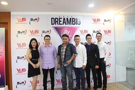 Dàn giám khảo vòng 1 Dream Big 2015 tại VUS.
