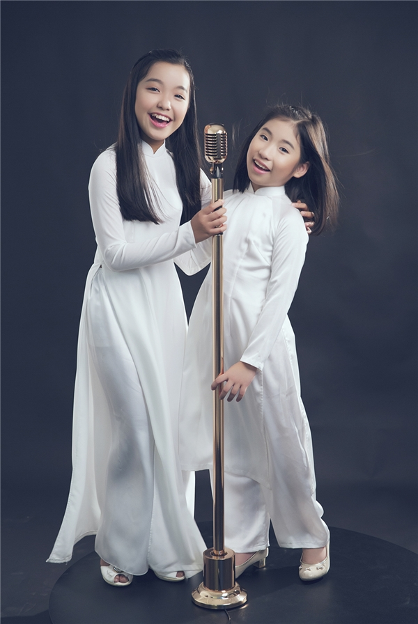 Hai giọng hát trưởng thành từ cuộc thi Gương mặt thân quen nhí mùa đầu tiên.