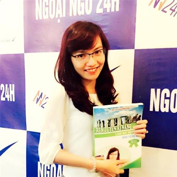Cô giáoMai Phươngxinh đẹp và tài năng. (Ảnh: Internet)