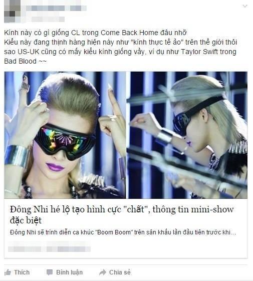 Tung hàng khủng, Đông Nhi không quan tâm đến việc nhái CL (2NE1) - Tin sao Viet - Tin tuc sao Viet - Scandal sao Viet - Tin tuc cua Sao - Tin cua Sao