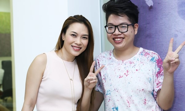 Ngưỡng mộ tình thầy trò đáng quý trong showbiz Việt - Tin sao Viet - Tin tuc sao Viet - Scandal sao Viet - Tin tuc cua Sao - Tin cua Sao
