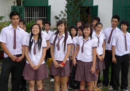 Những học trò đáng yêu và tinh nghịch của lớp 12A1. (Ảnh: Internet)