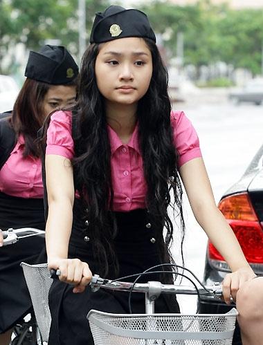Cô nàng lớp trưởng July Miu. (Ảnh: Internet)