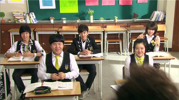 Lớp học đặc biệt của Cao thủ học đường. (Ảnh: Internet)