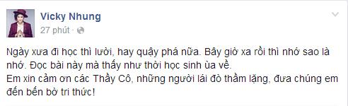 Sao Việt nô nức gửi lời tri ân đến thầy cô ngày nhà giáo - Tin sao Viet - Tin tuc sao Viet - Scandal sao Viet - Tin tuc cua Sao - Tin cua Sao