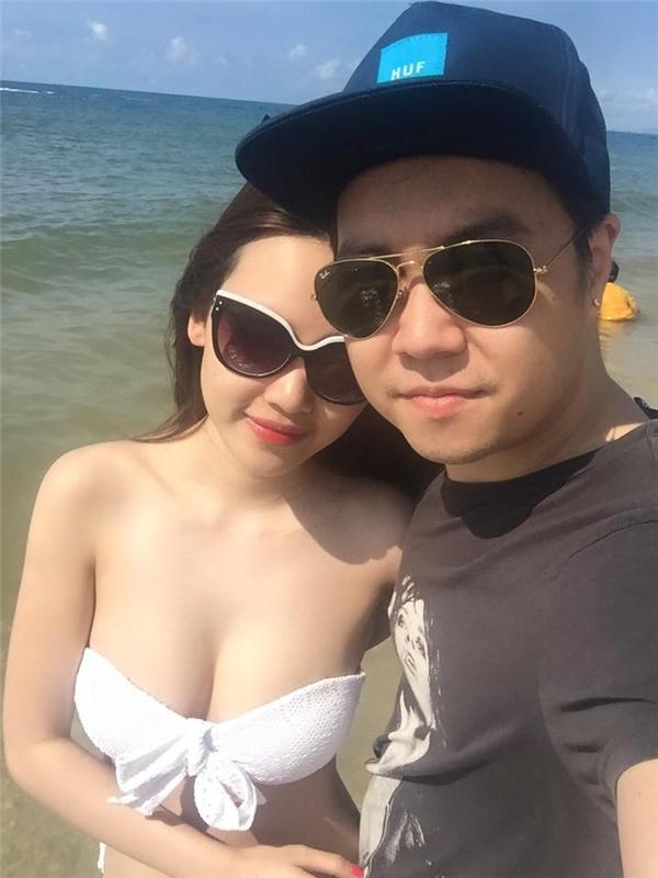 Câu chuyện tình yêu giữa Lê Hiếu và bạn gái 9x được nhiều khán giả ủng hộ bởi sự đẹp đôi và ngọt ngào của họ.