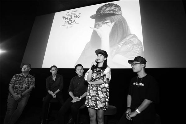 Diva thứ 4 của làng nhạc Việt tại buổi họp báo ra mắt MV mới. - Tin sao Viet - Tin tuc sao Viet - Scandal sao Viet - Tin tuc cua Sao - Tin cua Sao