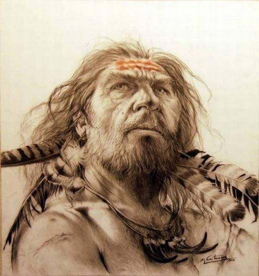 Neanderthalđược xem là người anh em gần gũi với tổ tiên loài người nhất. Họ tồn tại cách đây khoảng 30.000 năm nhưng biến mất một cách không ngờ, khiến rất nhiều nhà khoa học tranh luận gay gắt. Nhiều nhà nhân chủng học cho rằng do núi lửa dẫn đến việc biến đổi khí hậu xảy ra, nhưng cũng có người cho rằng chính con người hiện đại trực tiếp dồn họ đến bước đường cùng. (Ảnh: Internet)