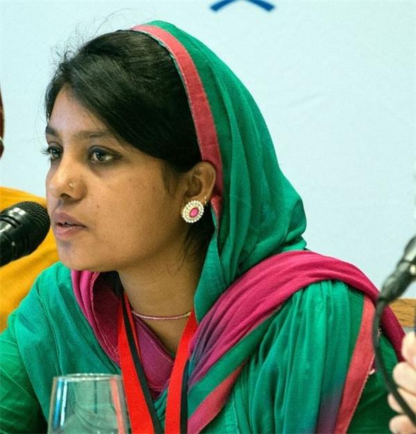 Cô gái kiên cường Anoyara Khatun.