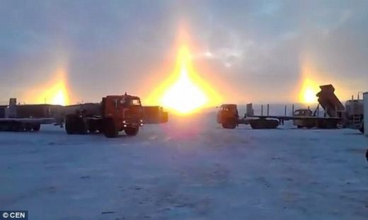 Hiện tượng chỉ xuất hiện ở các vùng cực hoặc nơi lạnh. (Ảnh: CEN)