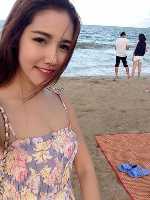 Cận cảnh vẻ xinh đẹp của cô tiếp viên hàng không người Thái. (Ảnh: Internet)