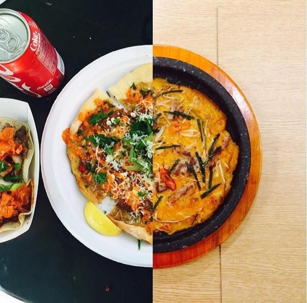 Chia sẻ với nhau những món ăn ngon. (Ảnh Internet)