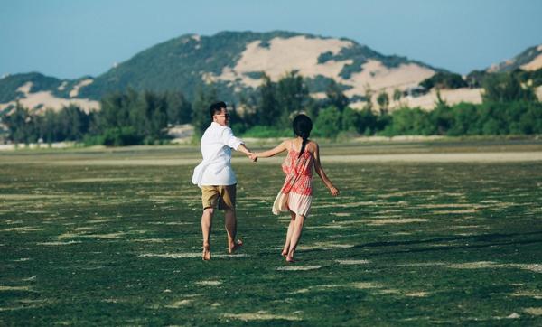 Khoảng cách địa líđã không làm thay đổi được trái tim của hai người yêu nhau. (Ảnh Internet)