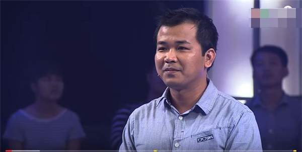 """Nguyễn Chí Thoại tại """"Thách thức danh hài""""mùa đầu tiên."""