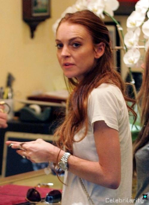 Chứng rối loạn ăn uống cộng với việc sử dụng ma túy khiến Lindsay lão hóa nhanh chóng