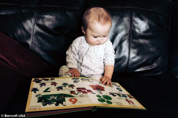 Ramses bắt đầu thích đọc từ khi 12 tháng tuổi.
