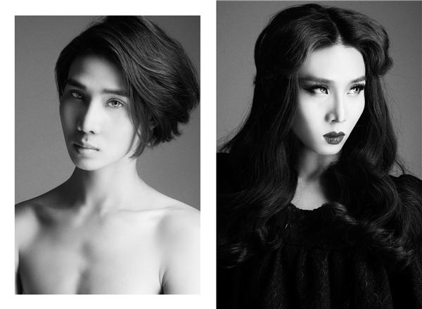 Nguyễn Phạm Minh Đức cao 1m82 với gương mặt ngọt ngào, trẻ trung.