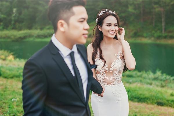 Mê mẩn bộ ảnh cưới long lanh của hoa hậu Diễm Hương - Tin sao Viet - Tin tuc sao Viet - Scandal sao Viet - Tin tuc cua Sao - Tin cua Sao