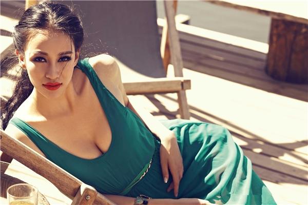 Nhờ ngoại hình ấn tượng và khuôn mặt cuốn hút, Mi Ya hiện đang là một trong những cô nàng nổi tiếng và được quan tâm nhất tại Trung Quốc.(Ảnh: Internet)