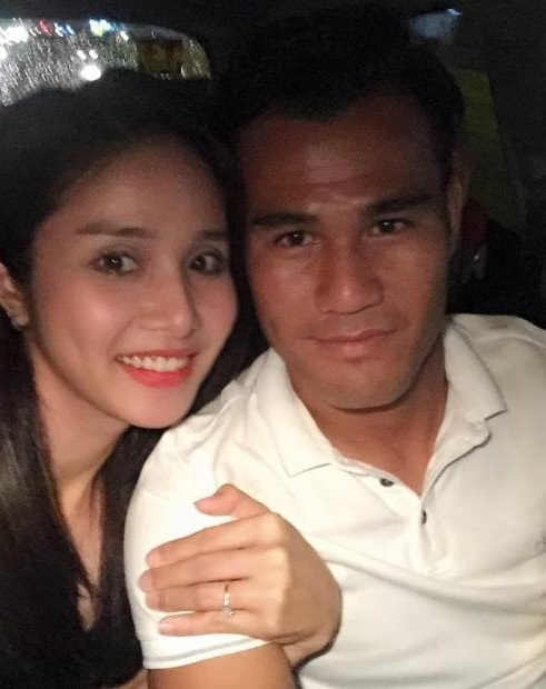 Trên trang cá nhân, Thảo Trang thường xuyên chia sẻ loạt ảnh ngọt ngào hạnh phúc bên người chồng điển trai.