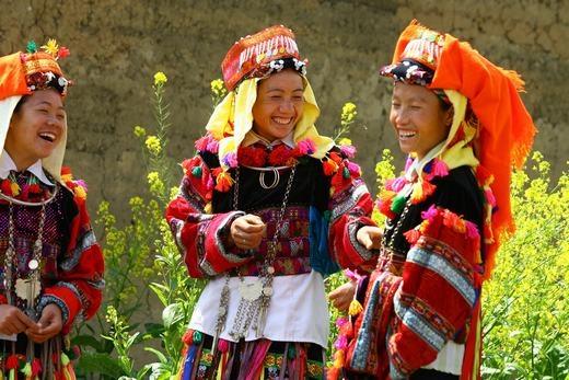 Nụ cười thánh thiện của thiếu nữ dân tộc Dao vùngTây Bắc. (Ảnh: Internet)