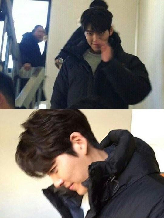 Những hình ảnh đầu tiên của Kim Woo Bin.