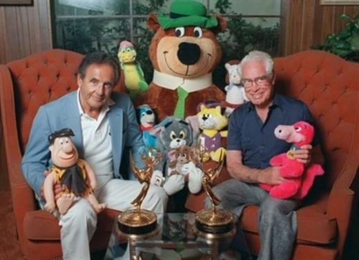 Cha đẻ của Tom & Jerry bên cạnh các nhân vật khác được sáng tạo bởi hai người.