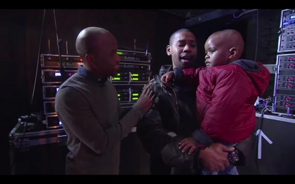 Arch Jnr và bốtrong chương trình truyền hình Got Talent Nam Phi. (Ảnh Internet)