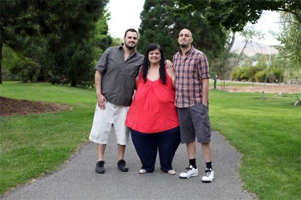 Patty và hai con trai