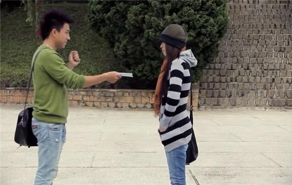 """Tiến Dũng và Hải Băng trong MV """"Viên đá nhỏ"""". - Tin sao Viet - Tin tuc sao Viet - Scandal sao Viet - Tin tuc cua Sao - Tin cua Sao"""