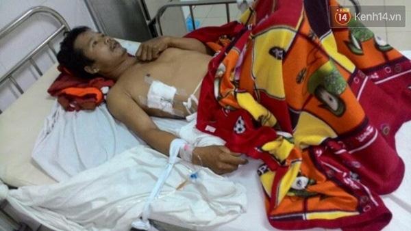 Vụ tai nạn kinh hoàng khiến anh Võ Văn Hải rơi vào tình trạng nguy kịch
