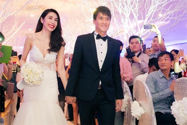 Cuối tháng 12 vừa qua cặp đôi mới chính thức tổ chức hôn lễ.(Ảnh: Internet)