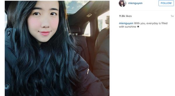 Một bức ảnh khác được Mie đăng cách đây không lâu.