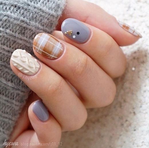 Móng tay len - Xu hướng móng đang hot nhất mùa đông 2015