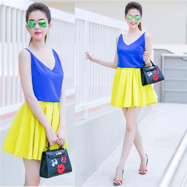 Trang phục sắc xanh - xu hướng sẽ bùng nổ thời gian tới
