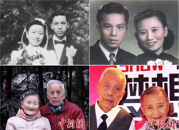Sau 7 thập kỉ, vợ chồng ông bà vẫn hạnh phúc bên nhau. (Ảnh Internet)