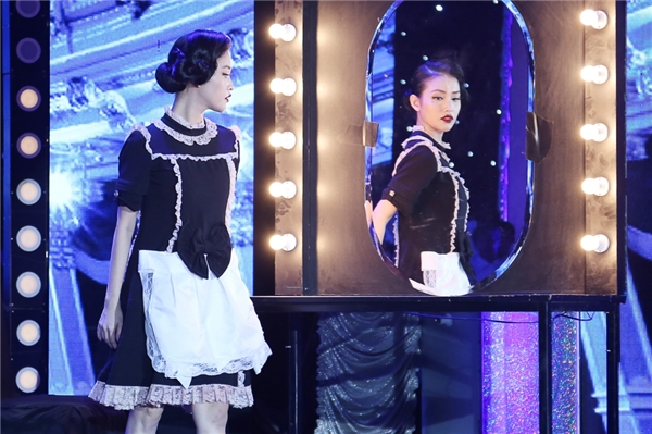 Mai Hồ hóa thân thành một nàng lao công xinh đẹp có ước mơ cháy bỏng được trởthành vũ công nổi tiếng. - Tin sao Viet - Tin tuc sao Viet - Scandal sao Viet - Tin tuc cua Sao - Tin cua Sao