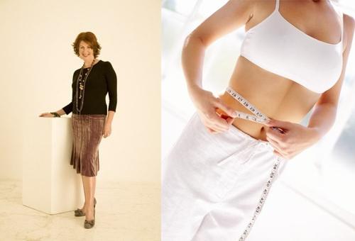 Marilyn Glenville đưa ra những lời khuyên giúp giảm vòng eo.