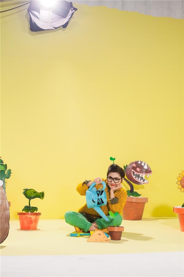 """Vicky Nhung: """"Tôi có nền tảng là giáo viên dạy Thiết kế đồ họa chuyển động nên rất chú trọng màu sắc trong MV"""". - Tin sao Viet - Tin tuc sao Viet - Scandal sao Viet - Tin tuc cua Sao - Tin cua Sao"""