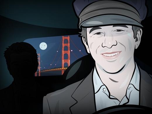 CEO Uber, Travis Kalanick di chuyển bằng xe Uber. Thậm chí những buổi tối rảnh rỗi Kalanick còn đích thân làm lái xe Uber.