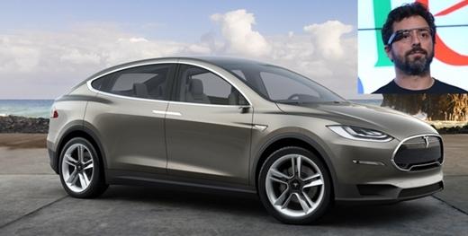 Đồng sáng lập Google, Sergey Brin lại rất khoái xe điện Tesla. Anh là người thứ tư trên thế giới nhận chiếc Model X, mẫu SUV đầu tiên của Tesla.