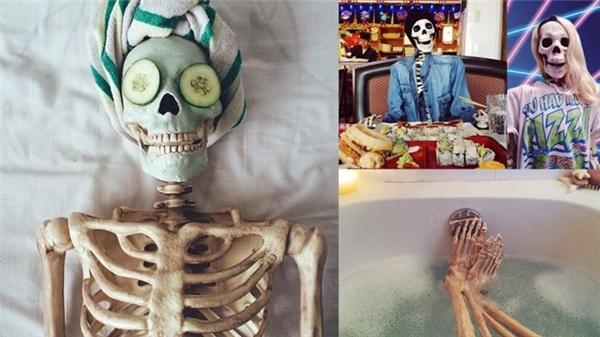 Bộ xương cũng phải đẹp. (Ảnh: Instagram)