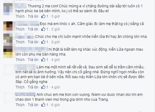 Fan tỏ ra ngạc nhiên trước kinh nghiệm làm mẹ màTrang Trần tự trang bị cho mình. - Tin sao Viet - Tin tuc sao Viet - Scandal sao Viet - Tin tuc cua Sao - Tin cua Sao