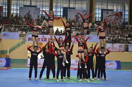 Vô địch Đà Nẵng – Đại họcDuy Tân mang đậm sự năng động, trẻ trung của sinh viên.