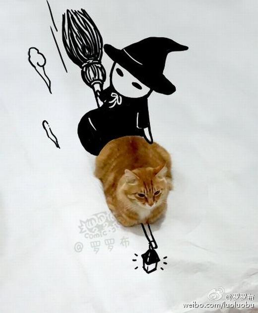 """""""Ta là thú cưng của phù thủy!""""."""