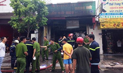 Vụ cháy khiến 2 mẹ con chủ quán tử vong. Ảnh: Internet