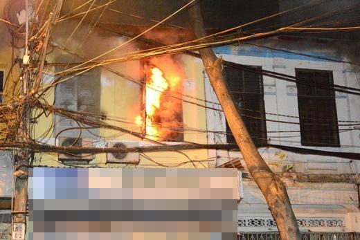 Hiện trường vụ cháy khiến bé gái 2 tuổi tử vong. Ảnh Internet