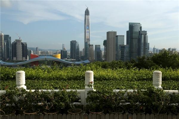 4. Trung tâm Tài chính Quốc tế Ping An ở Thâm Quyến, Trung Quốc cao 599 m.