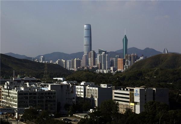 12. KK100 – Kingkey 100 ở Thâm Quyến, Trung Quốc cao gần 441,7 m.