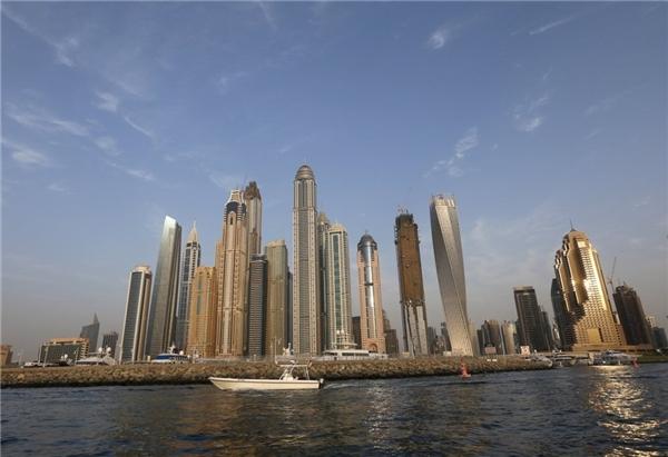 15. Marina 101 ở Dubai, UAE cao 426 m.